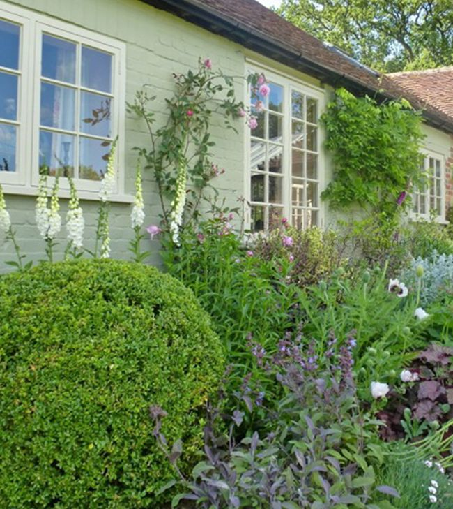 Naturalistic planting design for a Cottage-garden by Claudia de Yong