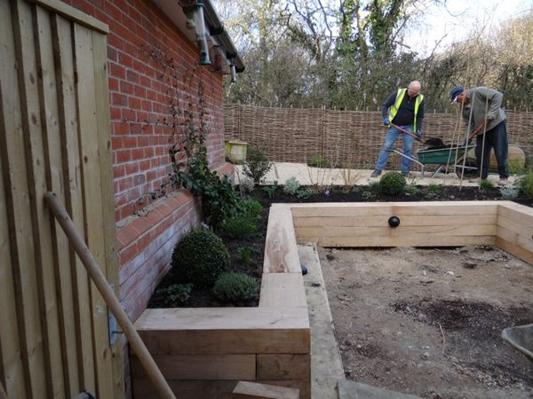 Challenges Of A New-build Garden In Sussex