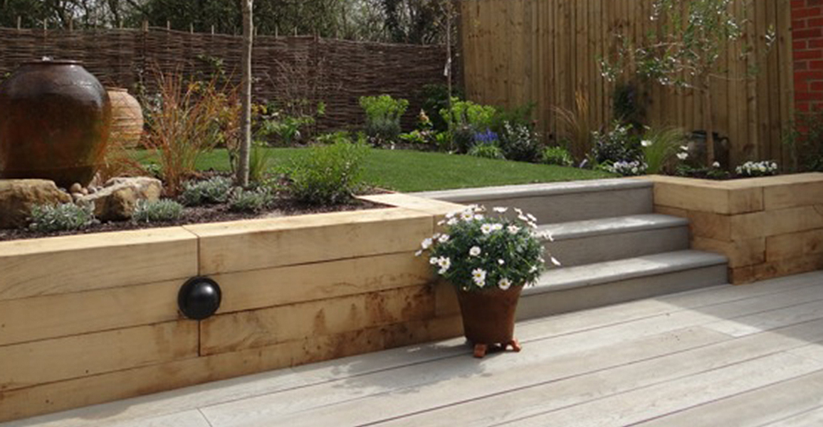 Garden Design And Build For A New Home In Sussex U2013 Now Completed. DSC03998