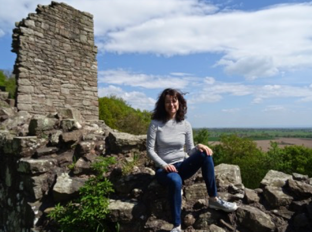 Claudia de Yong at Beeston Castle
